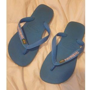 Havaianas flip flops Brasil sz 7
